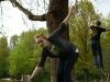 Slack im Park Mai