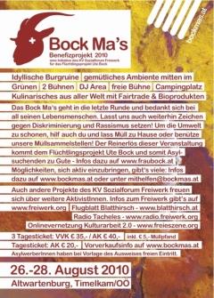 Bock Mas Flyer 2010 - hinten