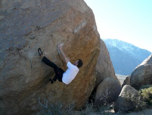 Bouldering @ Buttermilks