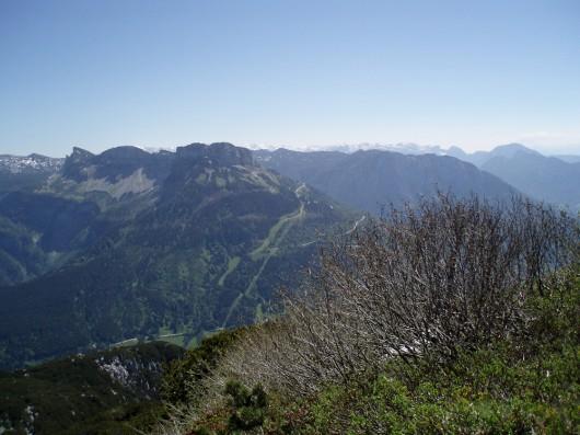 Ausblick auf den Loser und das Tote Gebirge