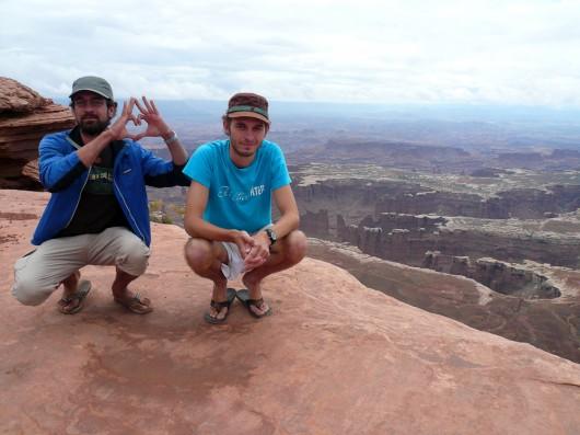 Berni und Stefan @ Canyonlands NP, Moab