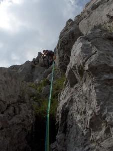 Südwand, 2. SL(3-)
