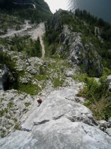 Traunstein SW-Grat und Gmundner Weg