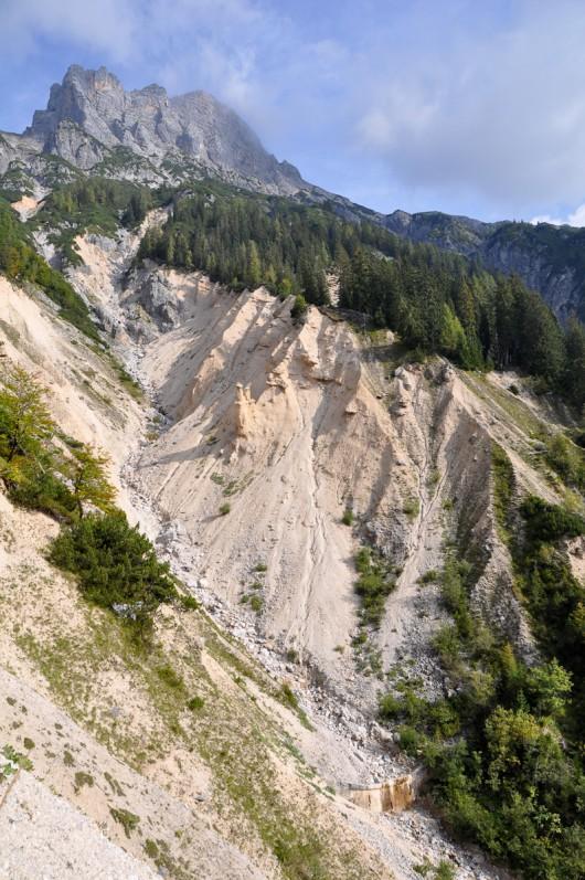 Mitterspitzen und Erosionen