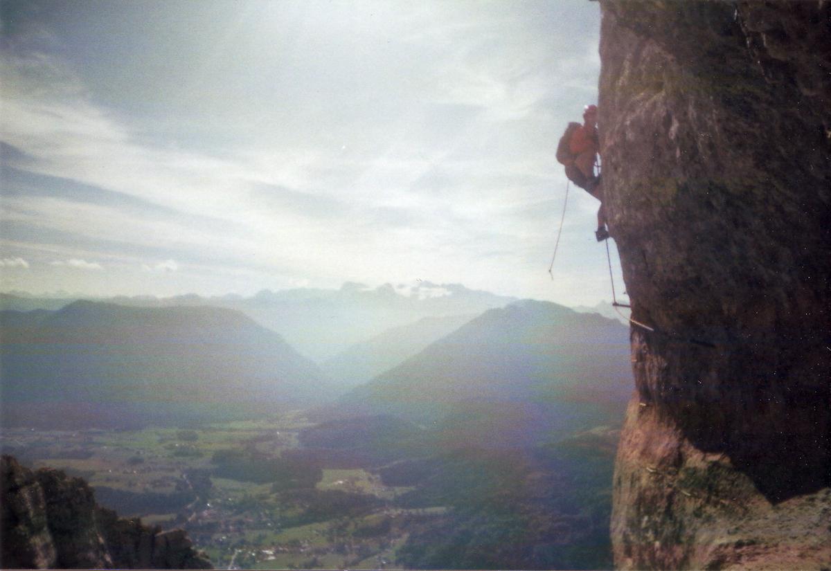 Klettersteig Loser : Loser panorama klettersteig u esissiu c dachstein lisa unterwegs