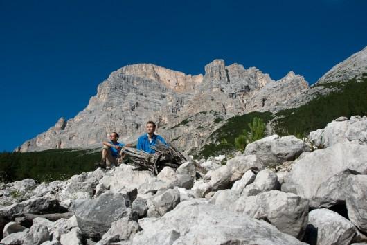 Berni, Kasi und der Monte Pelmo