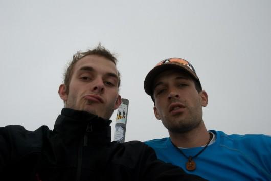 Gipfel Monte Pelmo (3.168m) Kasi und Berni