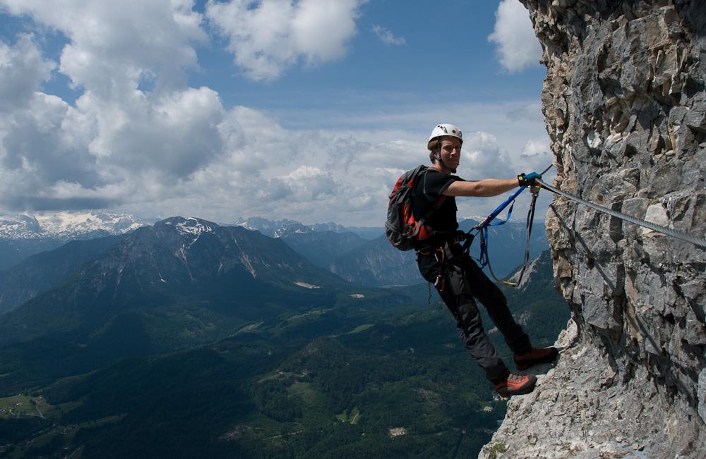 Klettersteig Loser : Alpine geckos loser panorama klettersteig sisi d