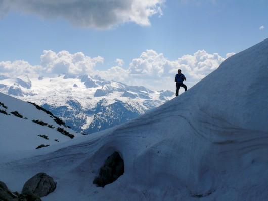 Dachsteingebirge, Berni und die Schaumrolle