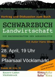 Vortrag Schwarzbuch Landwirtschaft